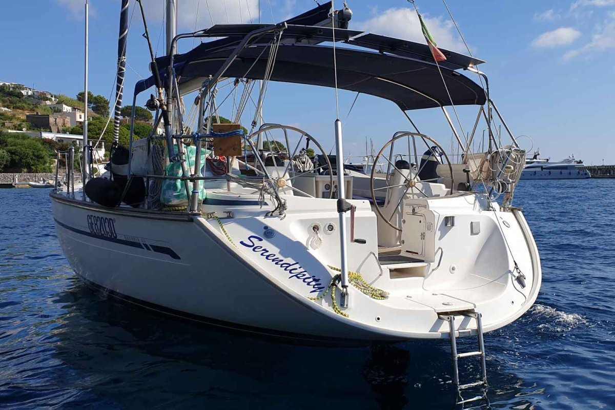 Parti Di Una Barca vacanza in barca a vela alle isole eolie - vacanze in barca